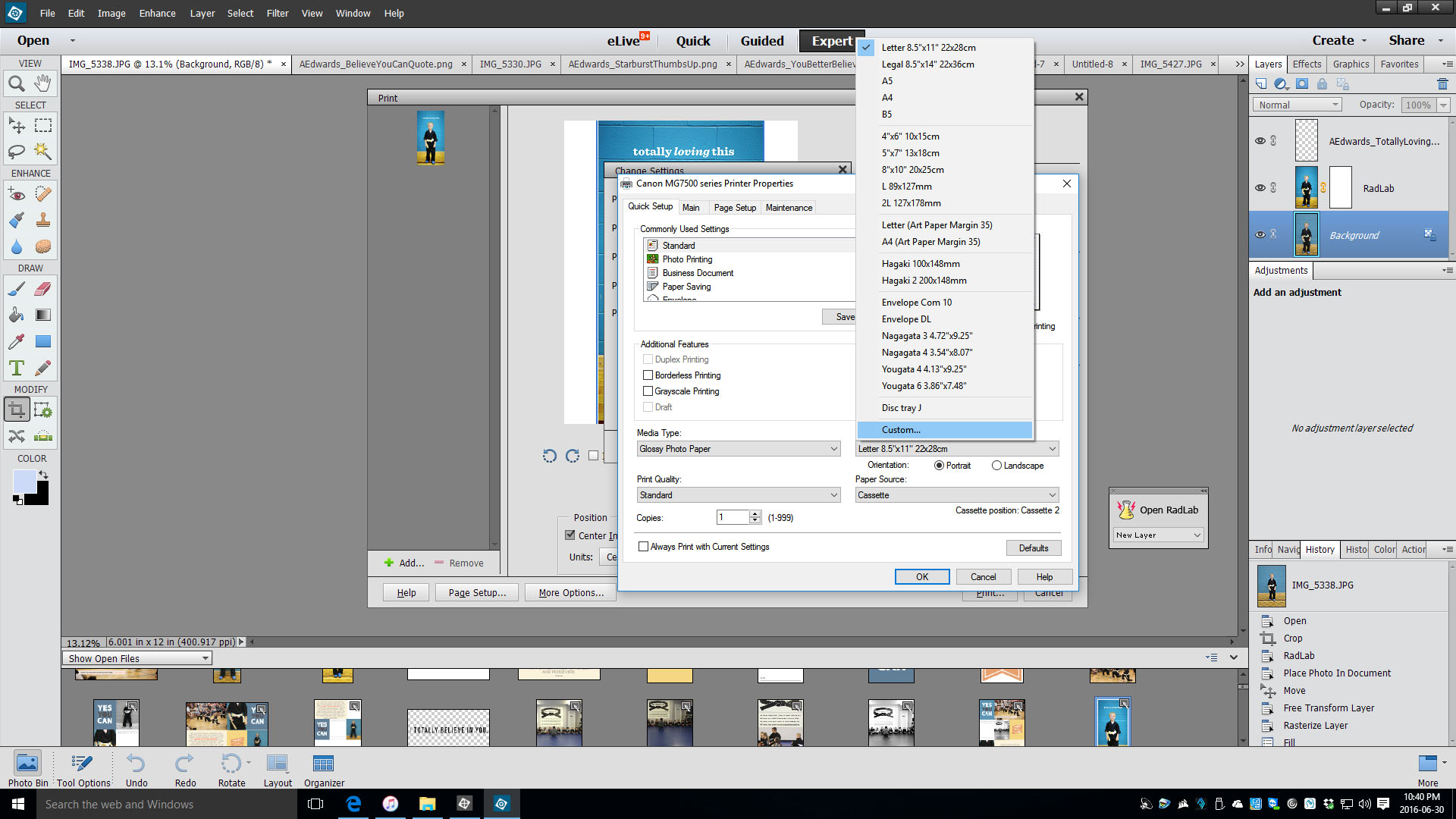 print tutorial 3